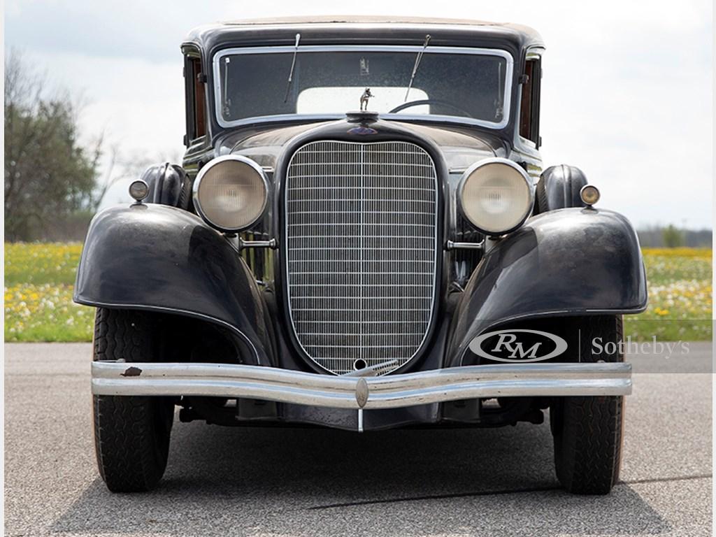 1934 Lincoln Model KB SevenPassenger Sedan offered at RM Auctions Auburn Fall Live Auction 2021