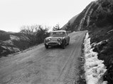 1958 Austin-Healey Sprite Mk 1 Works Rally  - $XOH 277 on the Monte Carlo Rally in 1959, where it finished 5th in class.