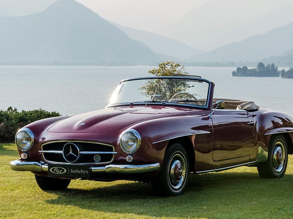 1957 MercedesBenz 190 SL Offered at RM Sothebys