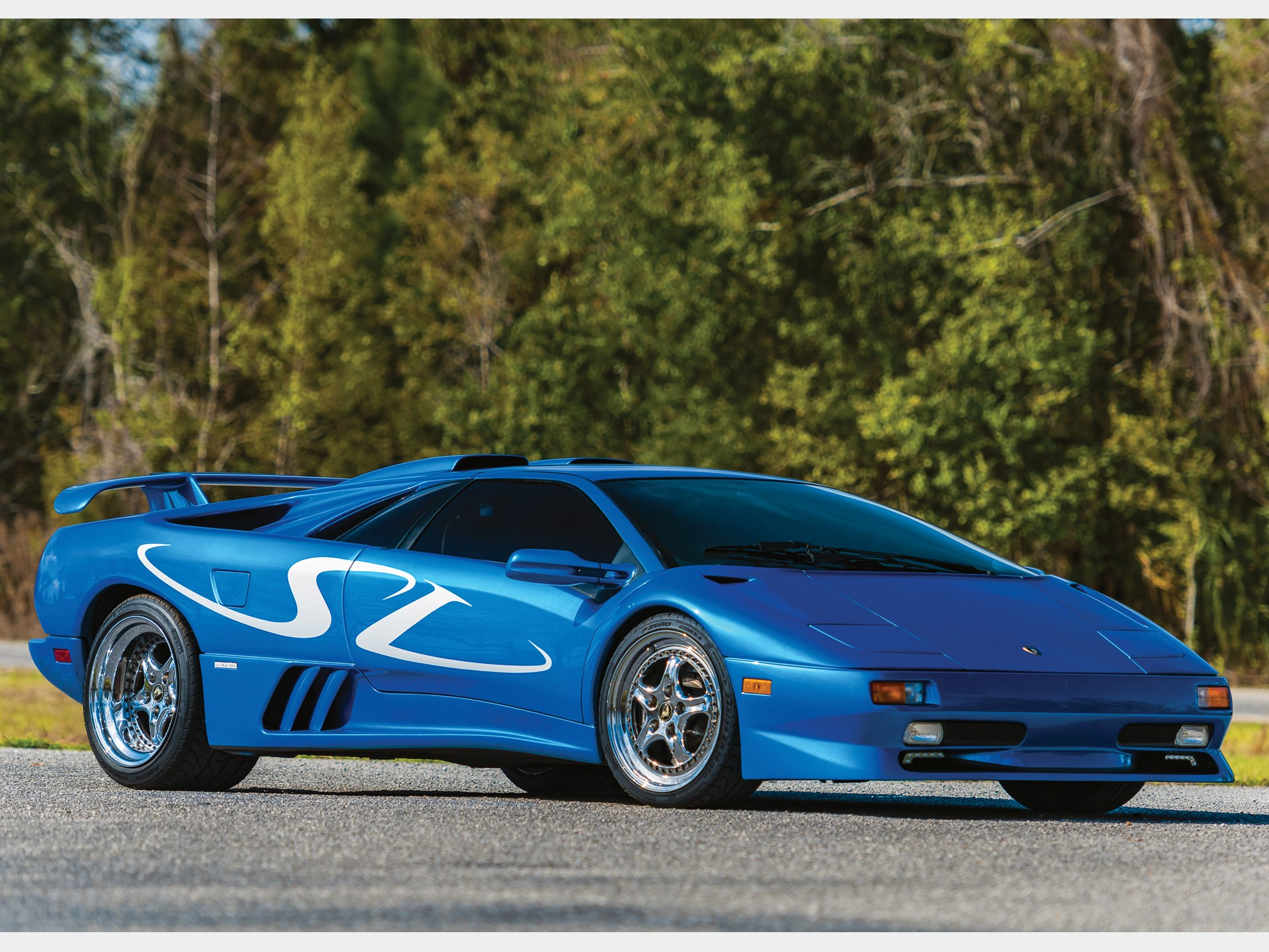 Rm Sotheby S 1998 Lamborghini Diablo Sv Monterey Edition Fort