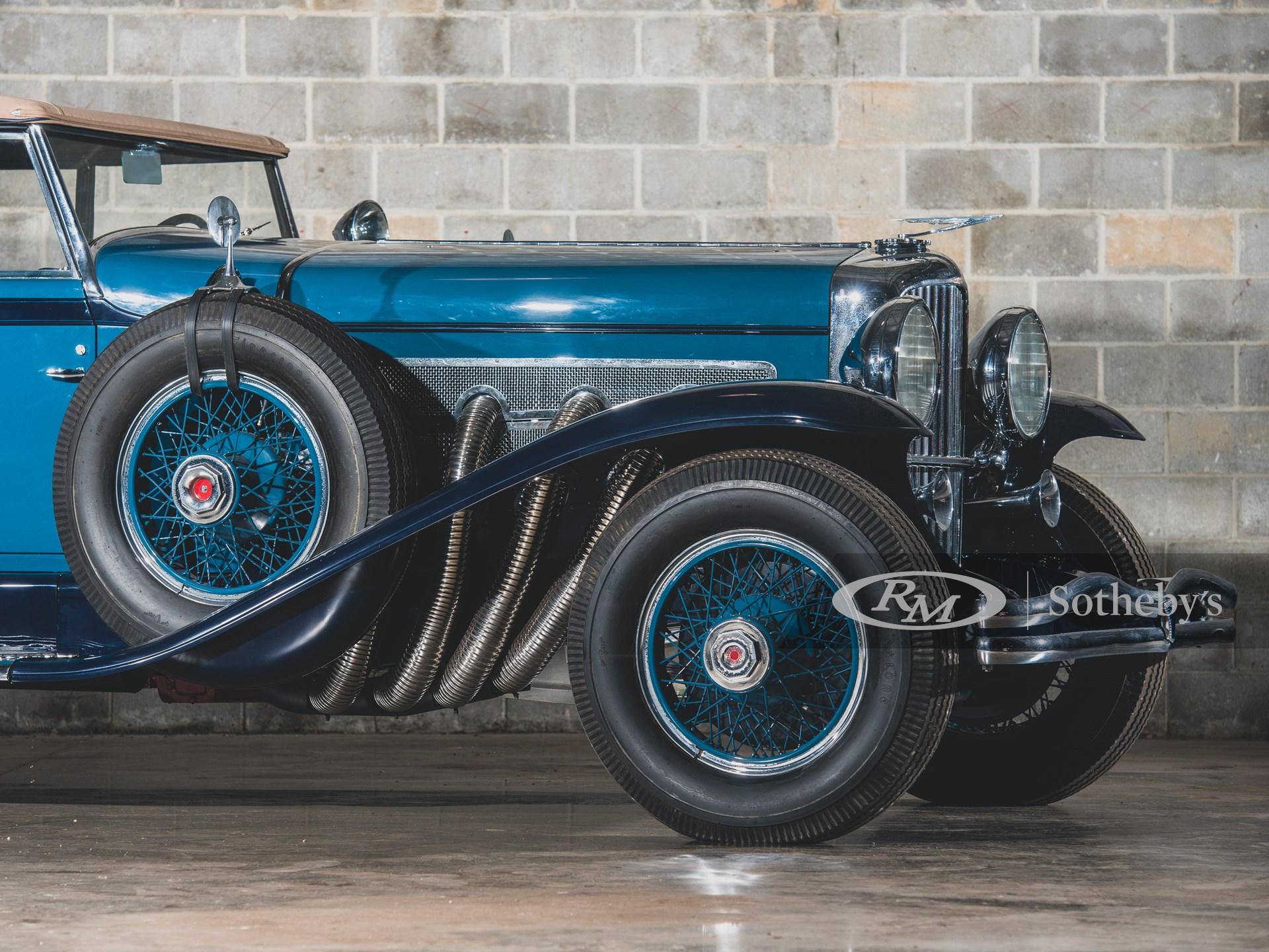 1930 Duesenberg Model J Convertible Sedan by Murphy -