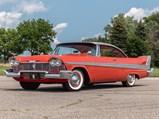 1958 Plymouth Fury Two-Door Hardtop  - $