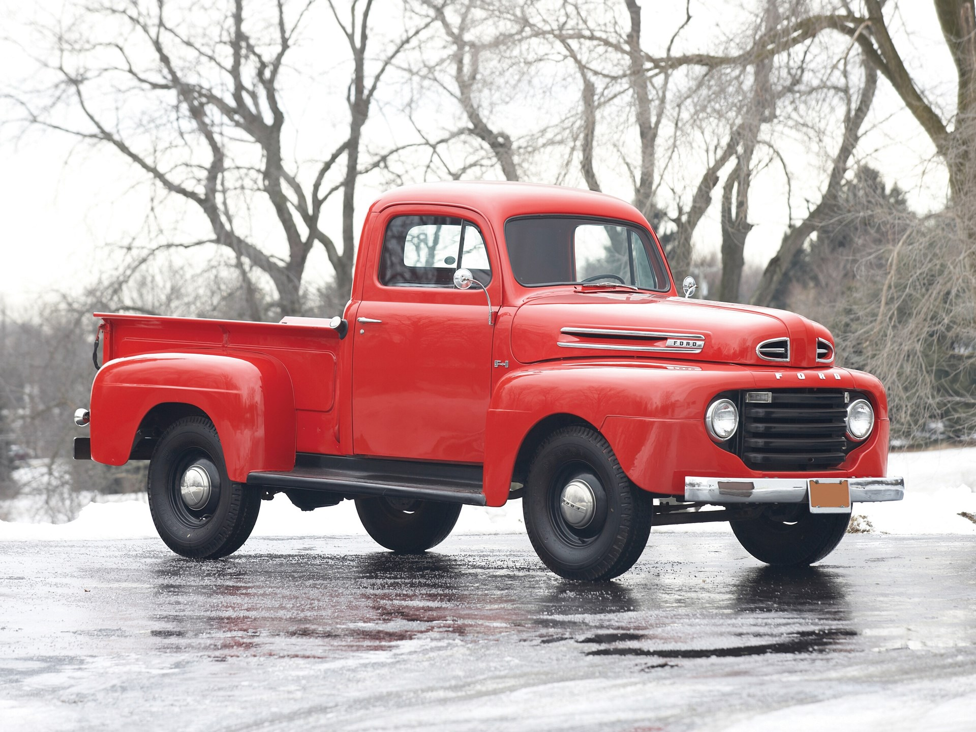 Rm Sothebys 1949 Ford F1 Pickup Truck Classic Car Auction Of Pick Up For Sale