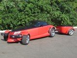 2000 Plymouth Prowler Woodward Edition with Trailer  - $