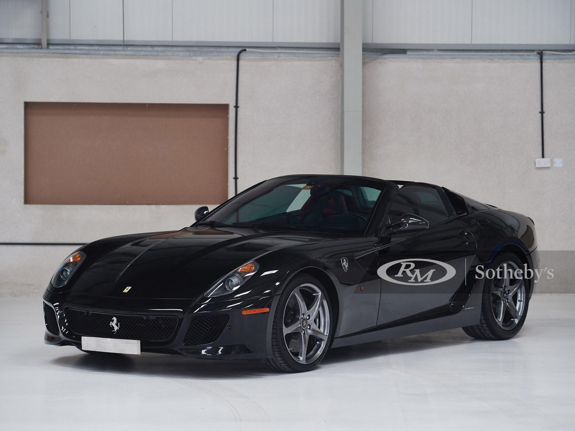2011 Ferrari 599 SA Aperta  -
