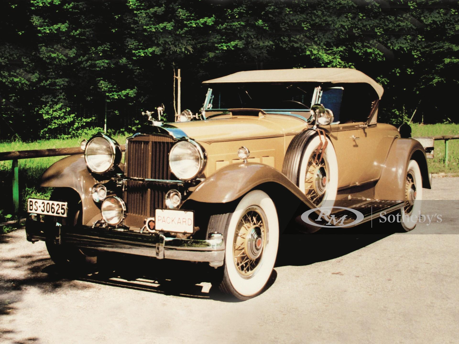 PACKARD SUPER EIGHT ROADSTER 1931/32