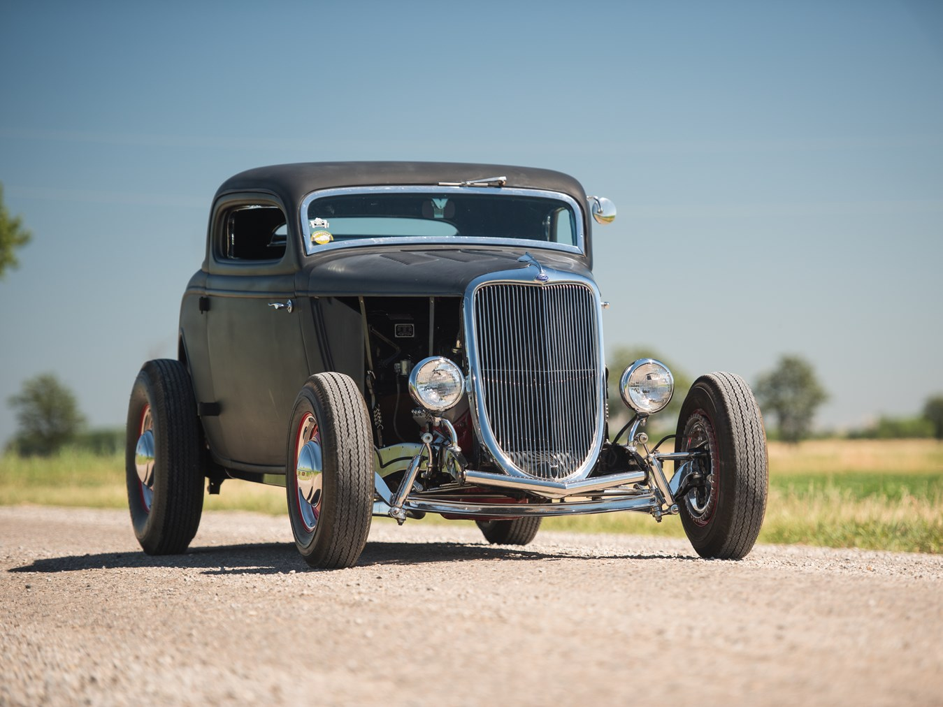 1934 Ford 'Hi-Boy' Three-Window Coupe