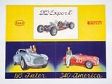 Ferrari 30 Anni di Esperienze Brochure, Italian, 1950 - $