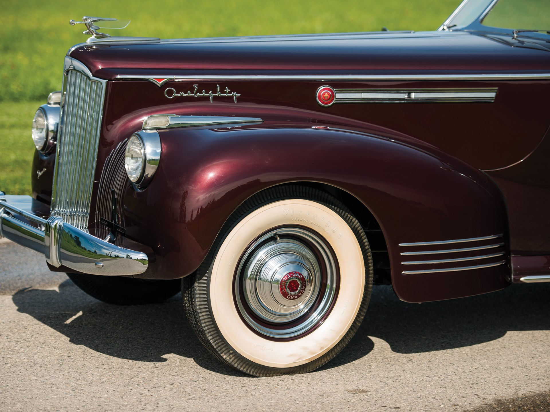 1941 Packard Custom Super Eight One Eighty Convertible Victoria by Darrin