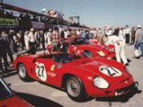 1962 Ferrari 268 SP by Fantuzzi - $Chassis no. 0798 awaiting the start of the 1963 12 Hours of Sebring.