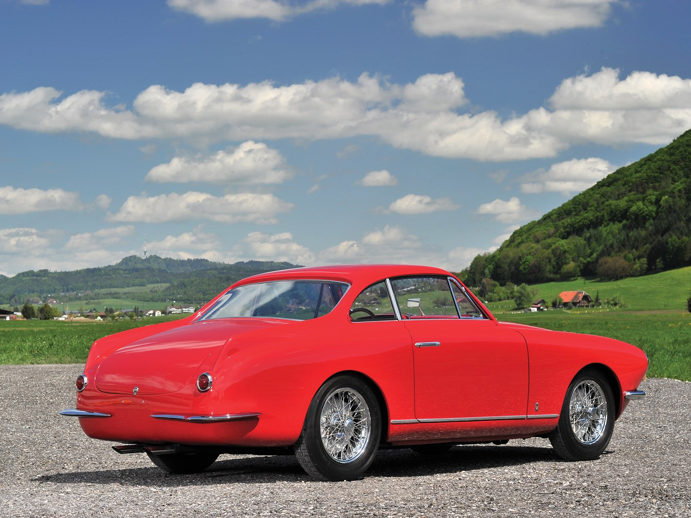 1954 Fiat 8V Coupe by Vignale