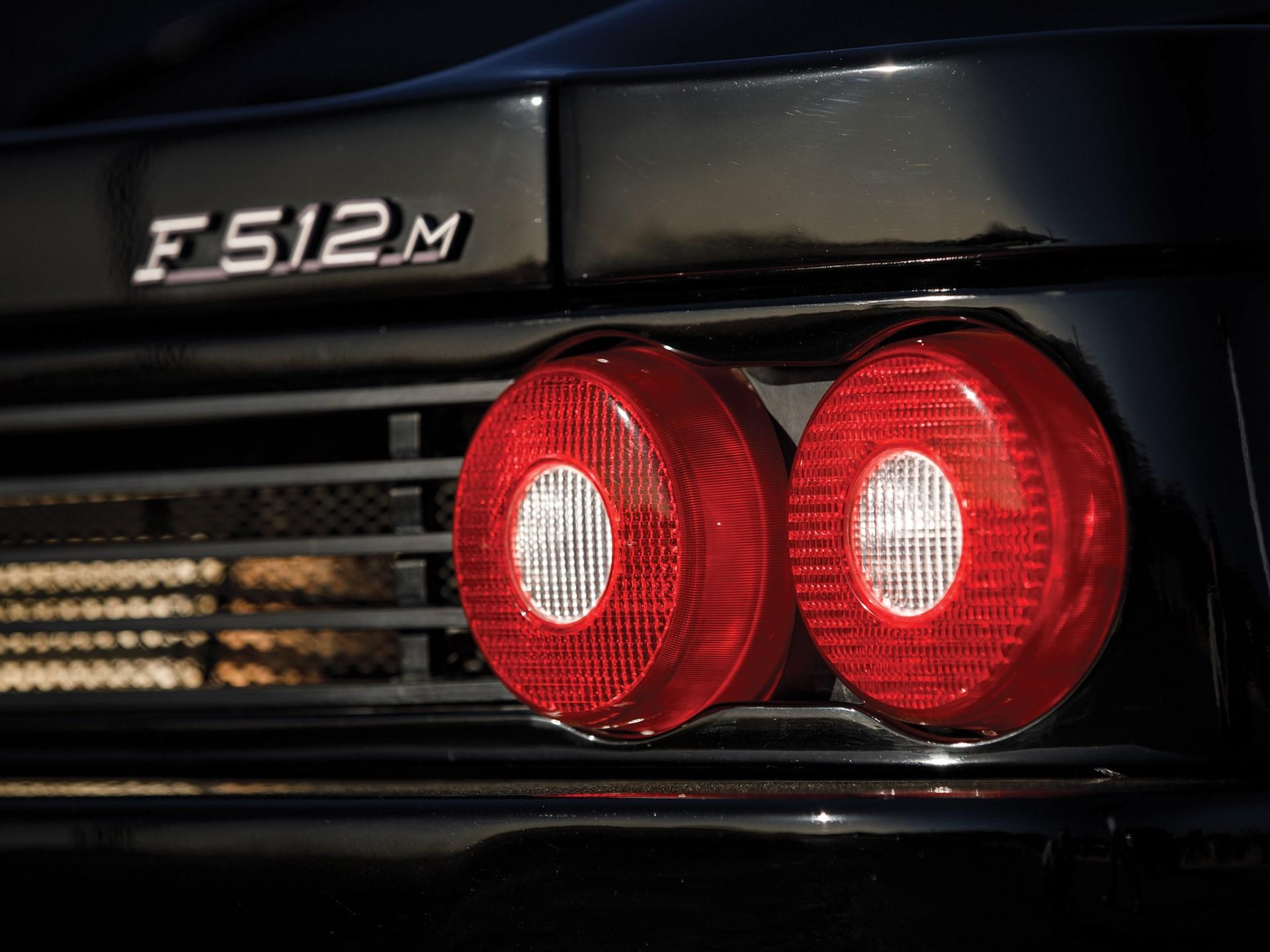 1995 Ferrari F512 M