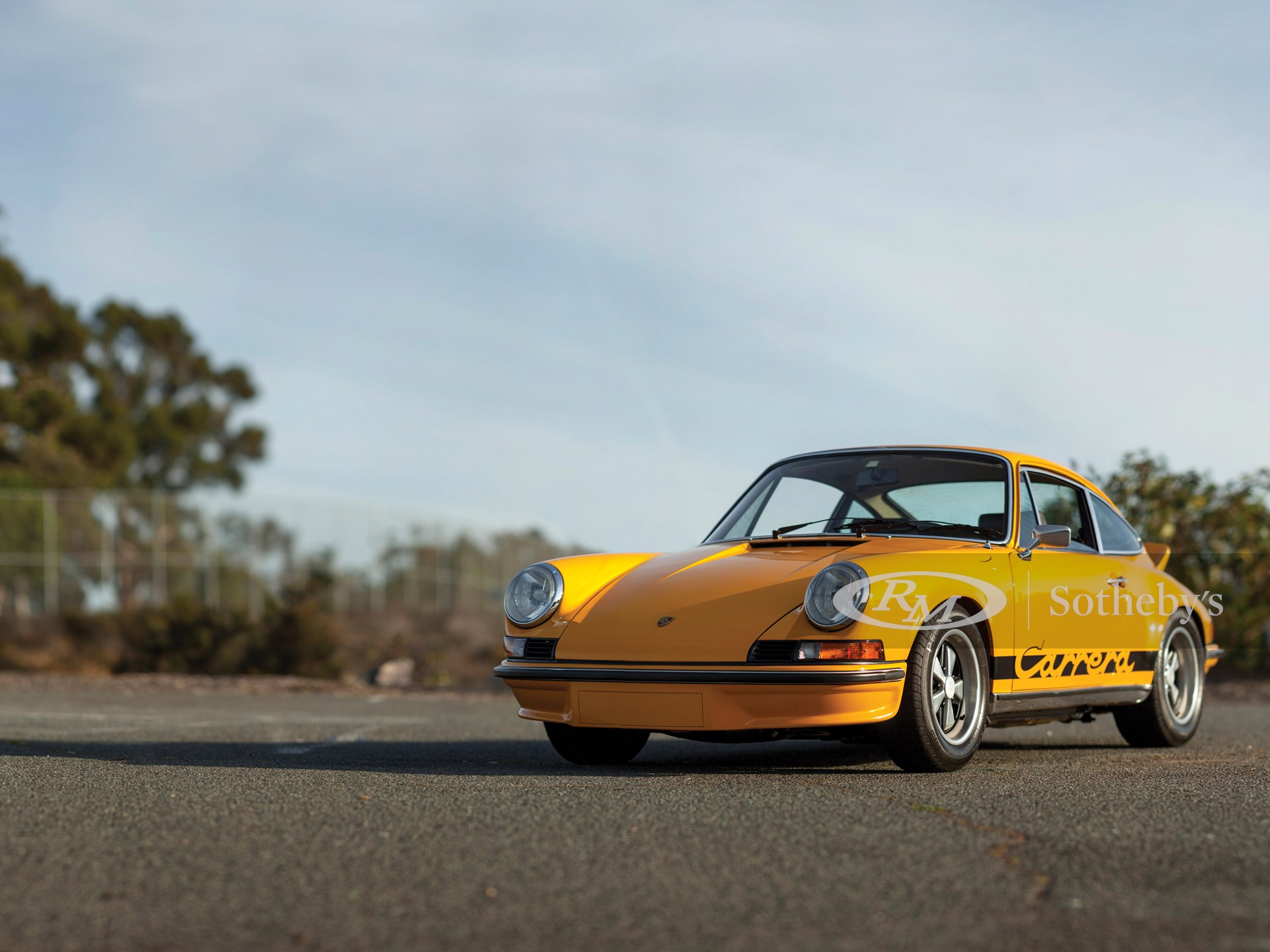 1973 Porsche 911 Carrera RS 2.7 Touring | New York - Driven By Disruption  2015 | RM Sotheby'sRM Sotheby's