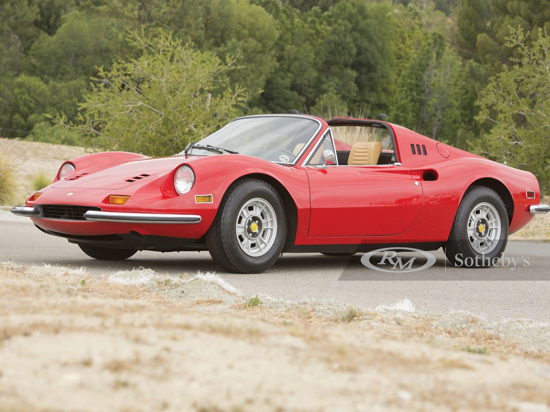1973 Ferrari Dino 246 Gts Monterey 2014 Rm Sotheby S