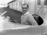 1927 Delage 15-S-8 Grand Prix  - $The ever dapper Monégasque, Louis Chiron looks ready to race at Indianapolis.