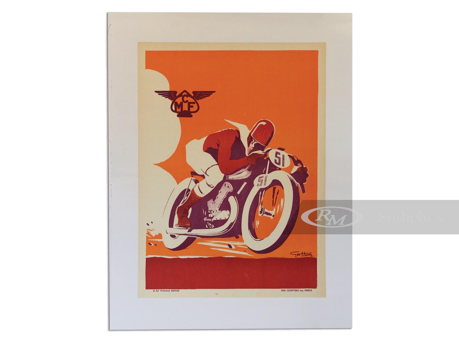 MCF Moto Club of France, 1935 -