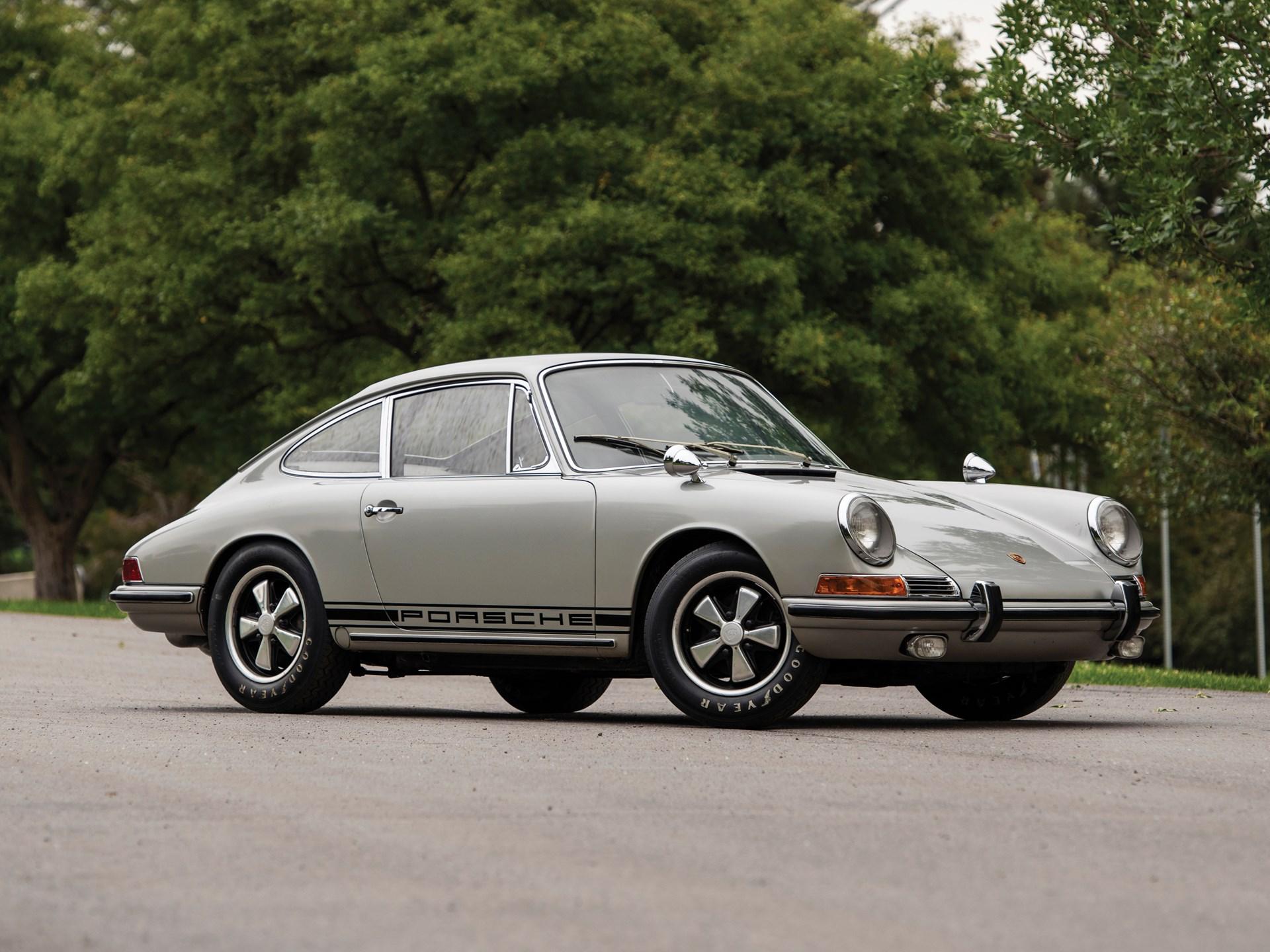 Rm Sotheby S 1967 Porsche 911 S Rallye Monterey 2019