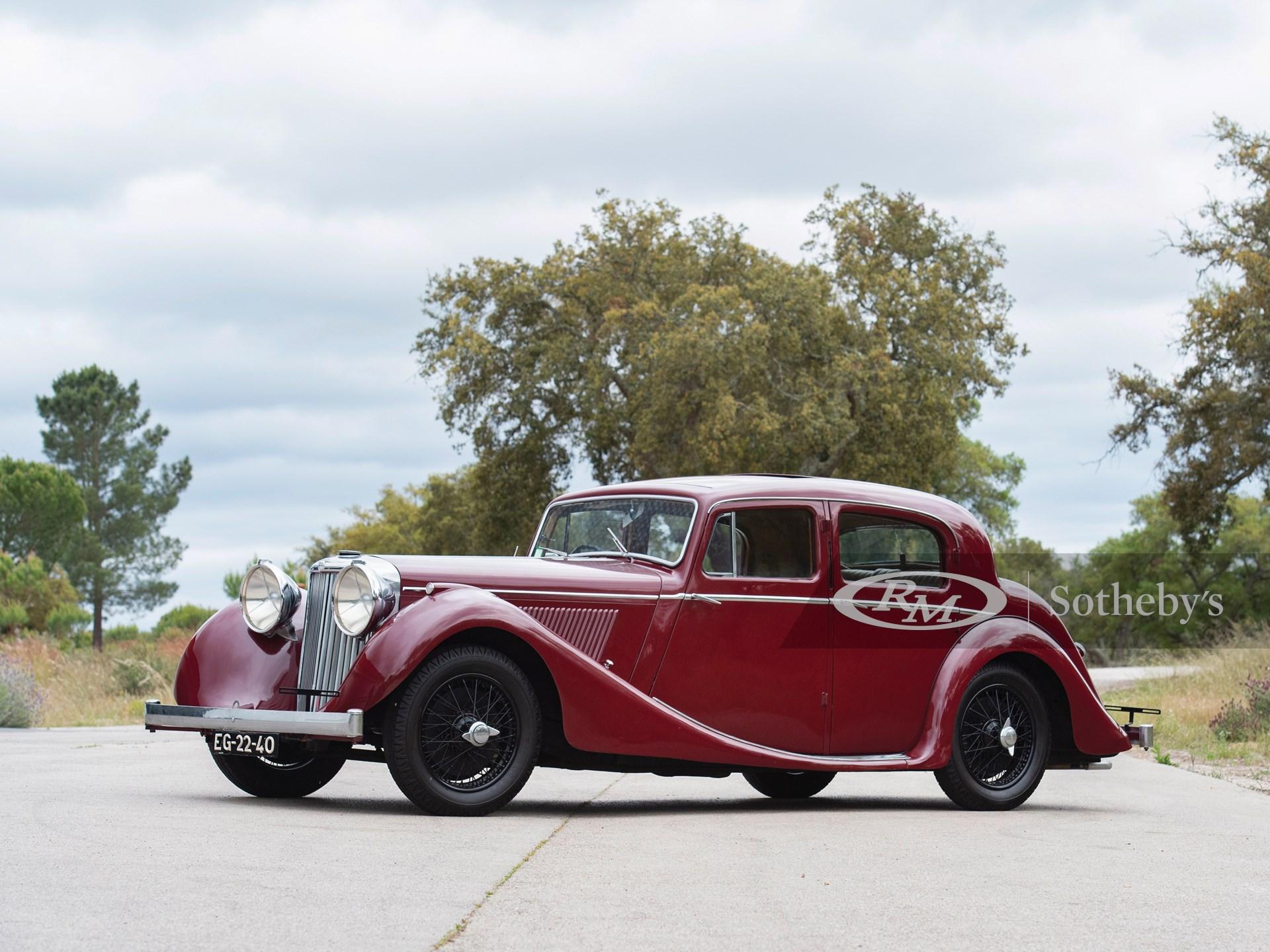 1947 Jaguar Mark IV Saloon  -