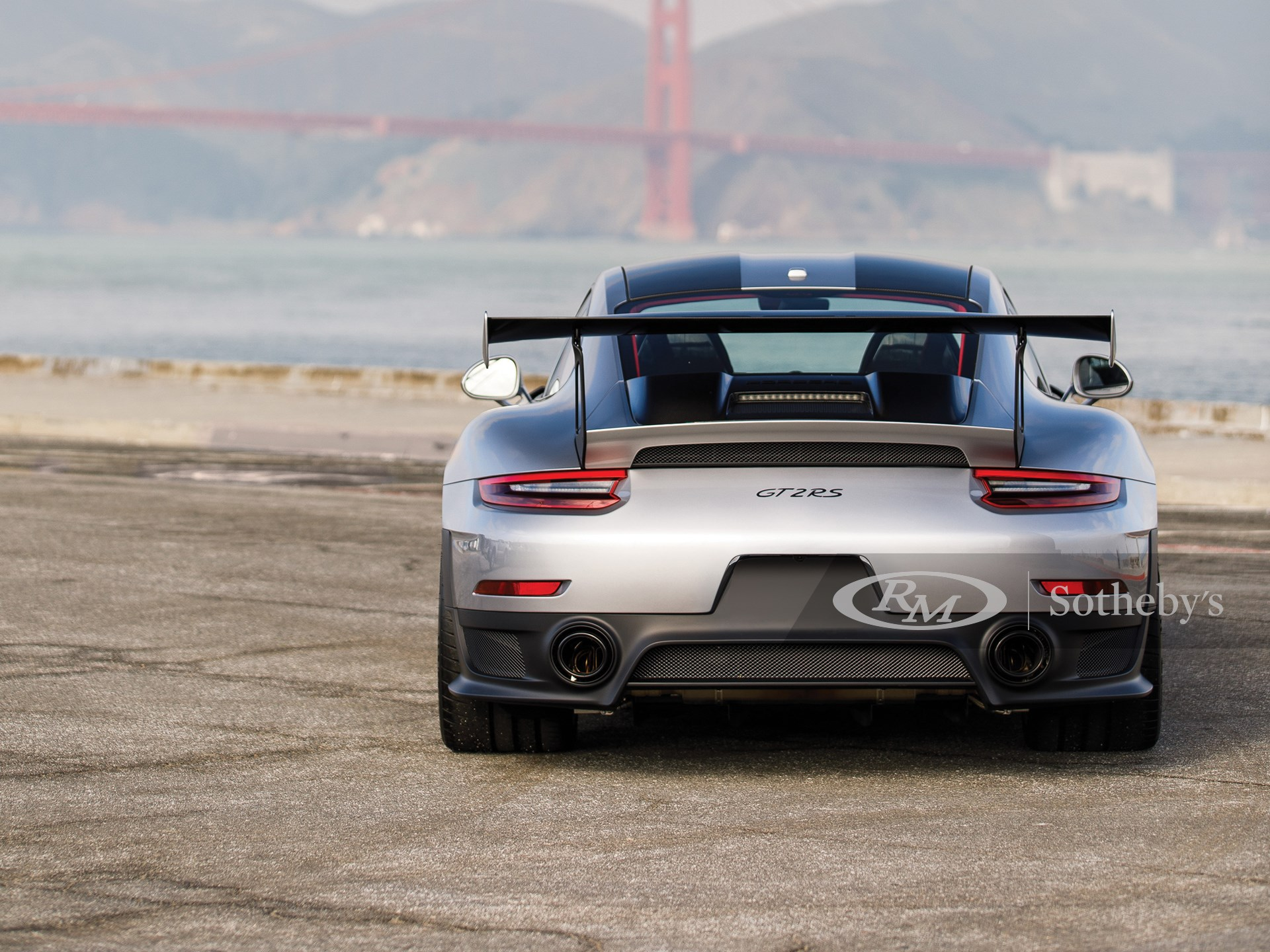 2018 Porsche 911 GT2 RS 'Weissach'  -