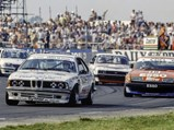1983 BMW 635 CSi Group A  - $Frank Sytner and the 635 CSi at speed during the support race at the 1983 British Grand Prix.