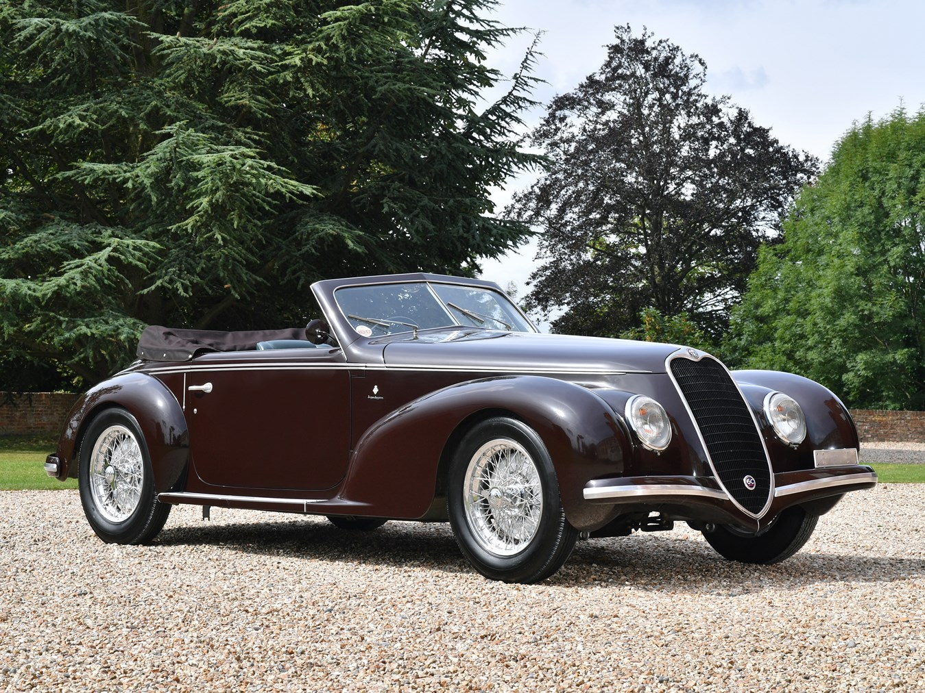 rm sotheby 39 s 1939 alfa romeo 6c 2500 sport cabriolet by touring. Black Bedroom Furniture Sets. Home Design Ideas