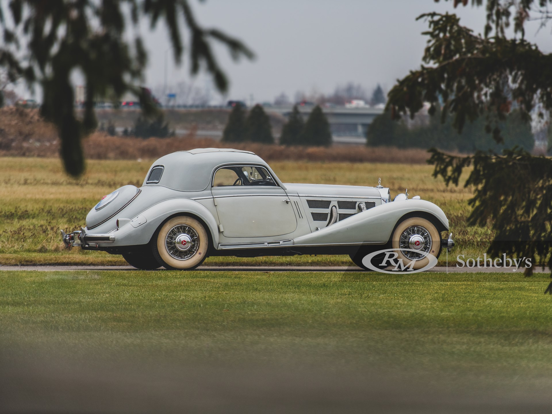 1937 Mercedes-Benz 540 K Coupe by Hebmüller -