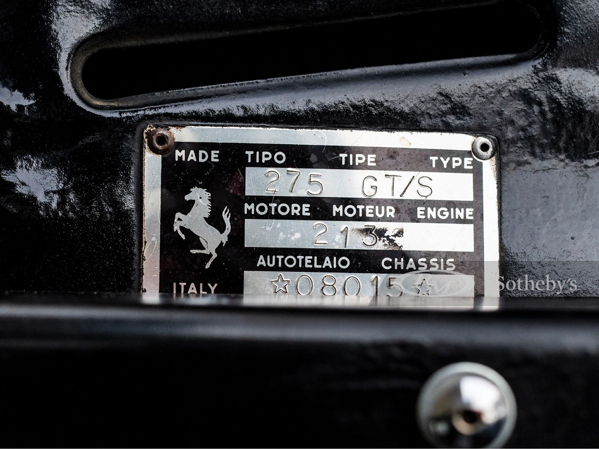 1965 Ferrari 275 GTS by Pininfarina -