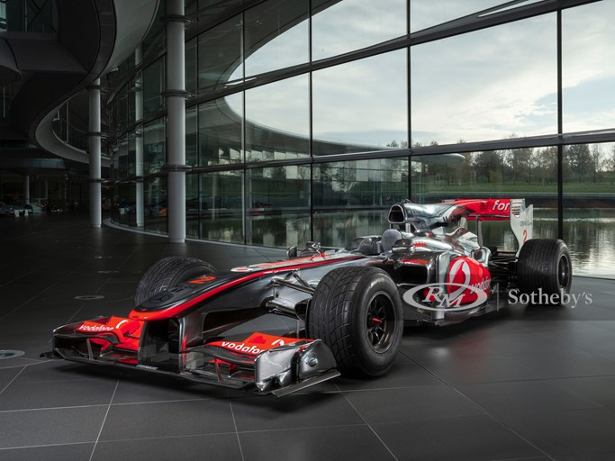 McLaren MP4/25 Photoshoot. McLaren Technology Centre, Woking, UK. 9th November 2020
