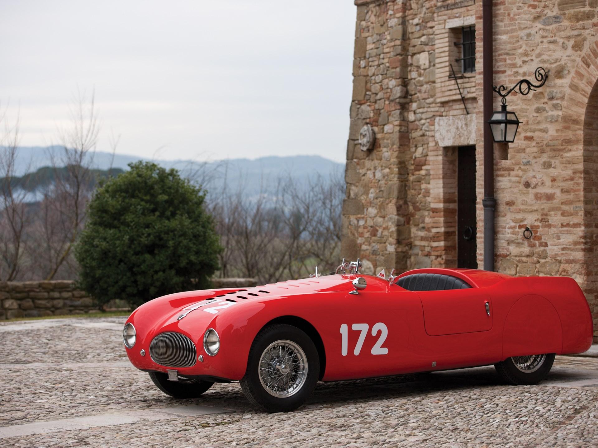 1947 Cisitalia 202 SMM 'Nuvolari' Spyder by Carrozzeria Garella