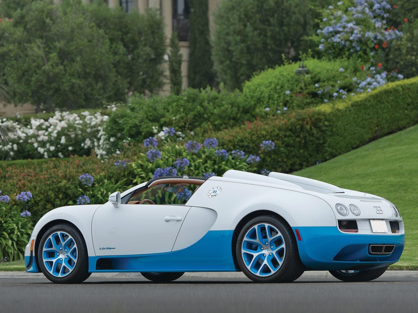 2013 Bugatti Veyron 16.4 Grand Sport Vitesse U0027Le Ciel Californienu0027