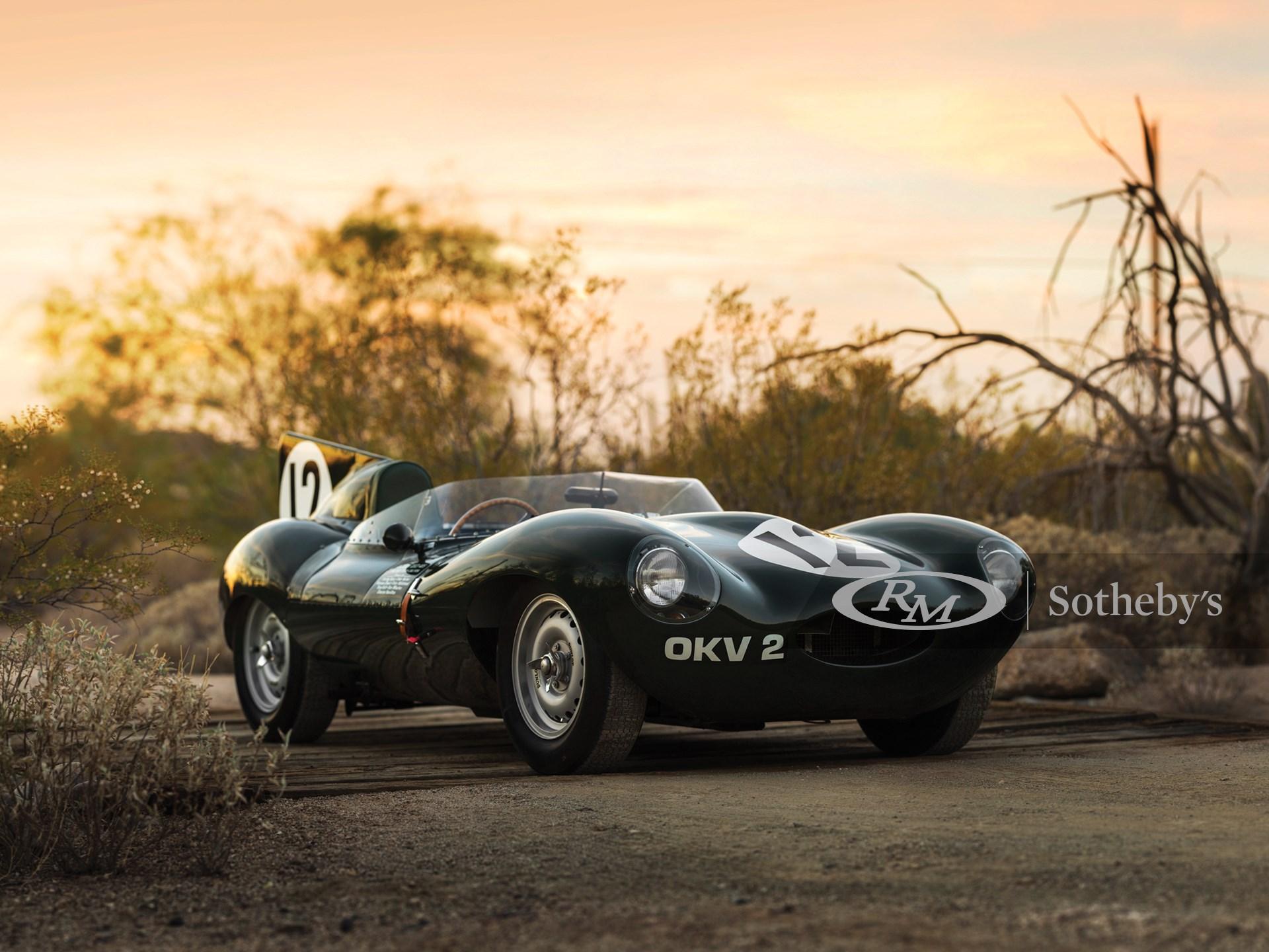 1954 Jaguar D-Type Works  -