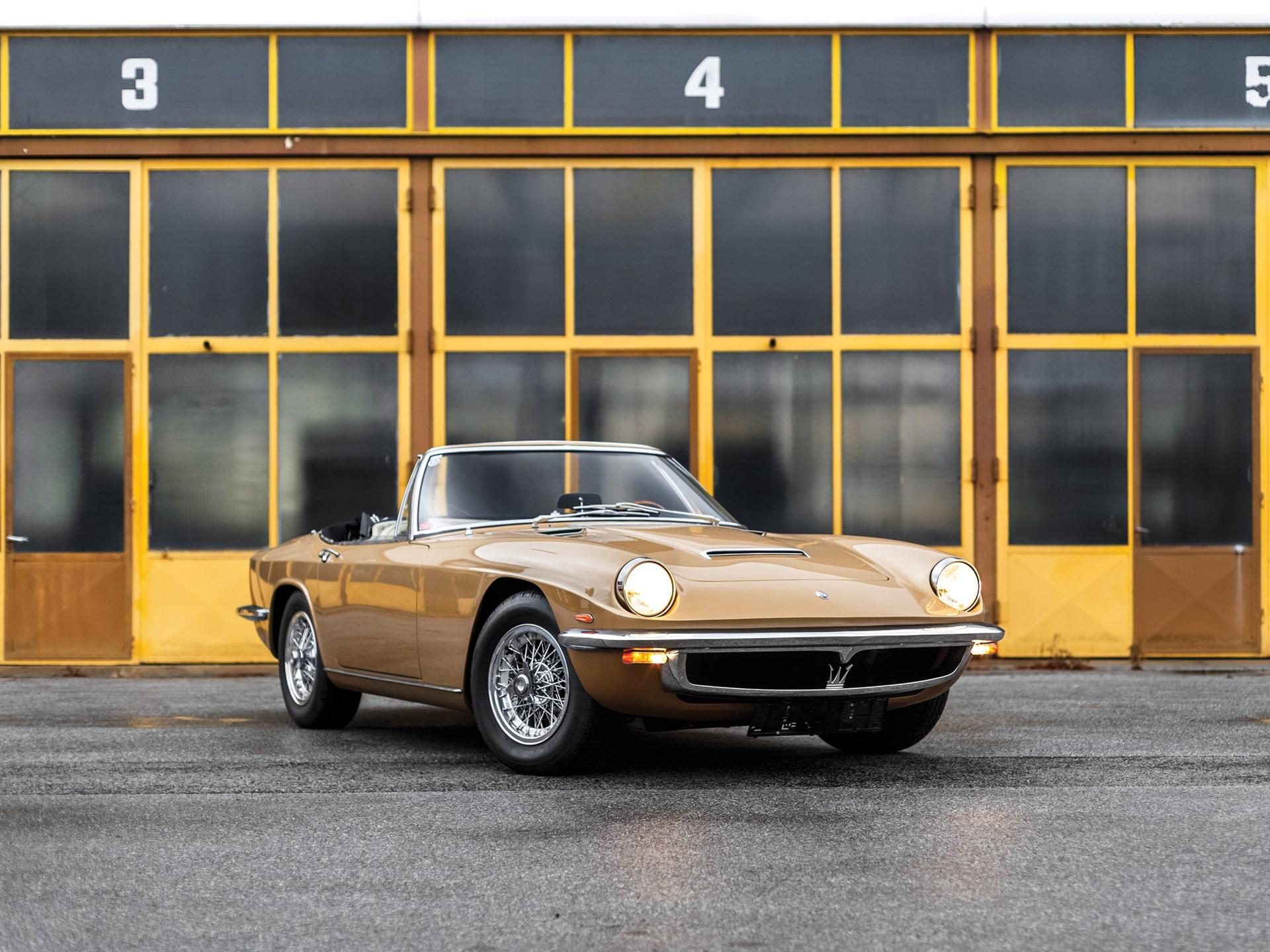 RM Sotheby's - 1967 Maserati Mistral 4.0 Spyder by Frua ...