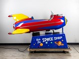 Space Ship Coin-Operated Kiddie Ride by Bally's, 1948 - $
