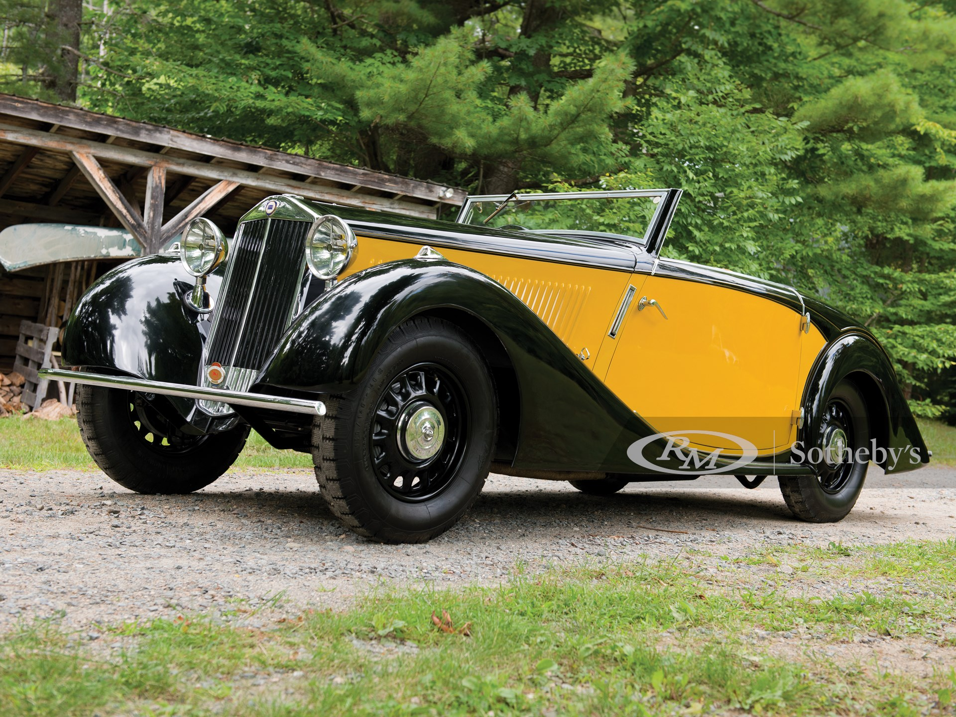 1934 Lancia Belna Eclipse by Pourtout -