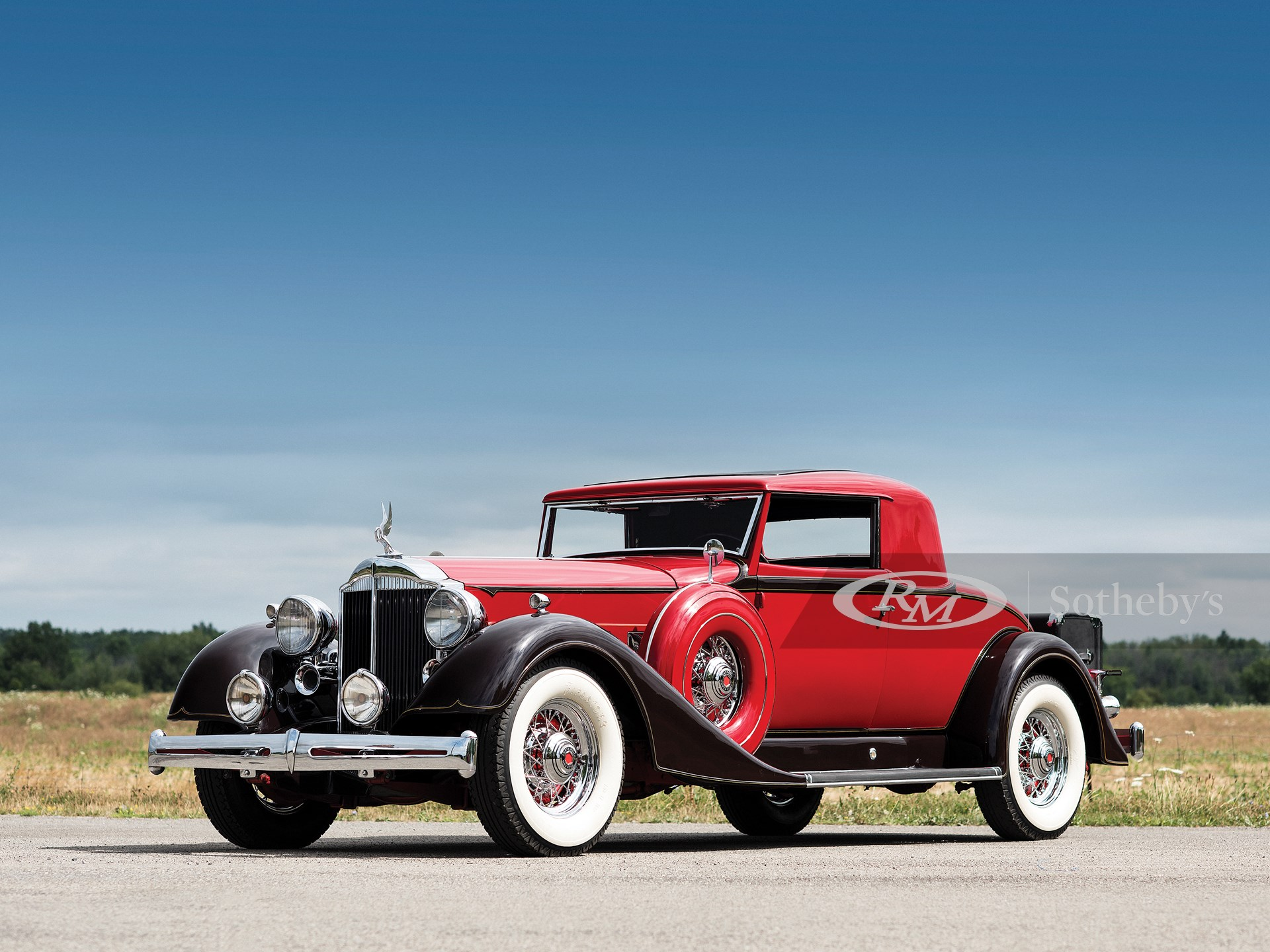 1934 Packard Super Eight Two-Passenger Coupe