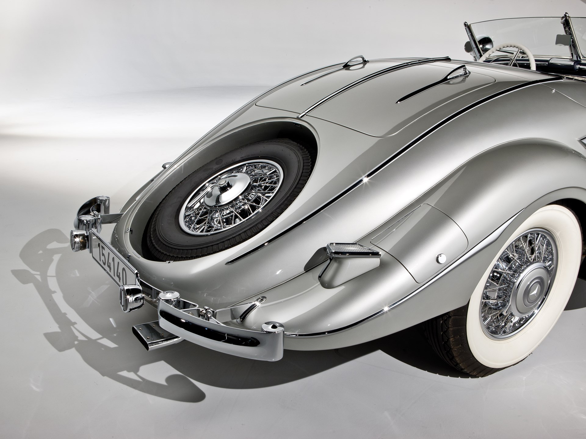 1937 Mercedes-Benz 540 K Spezial Roadster by Sindelfingen