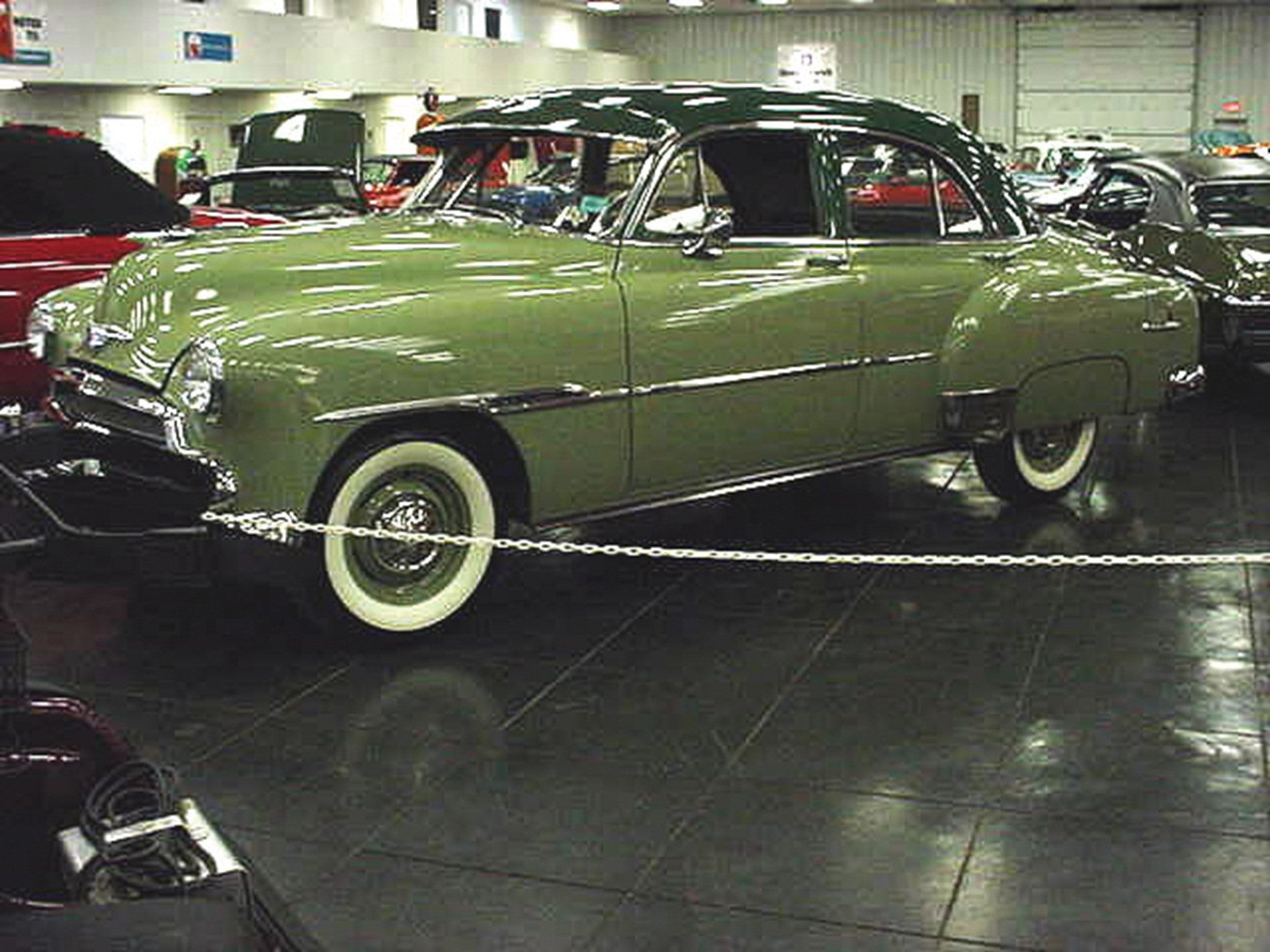 Rm Sothebys 1951 Chevrolet Deluxe Sedan Vintage Motor Cars And 2 Door Hardtop