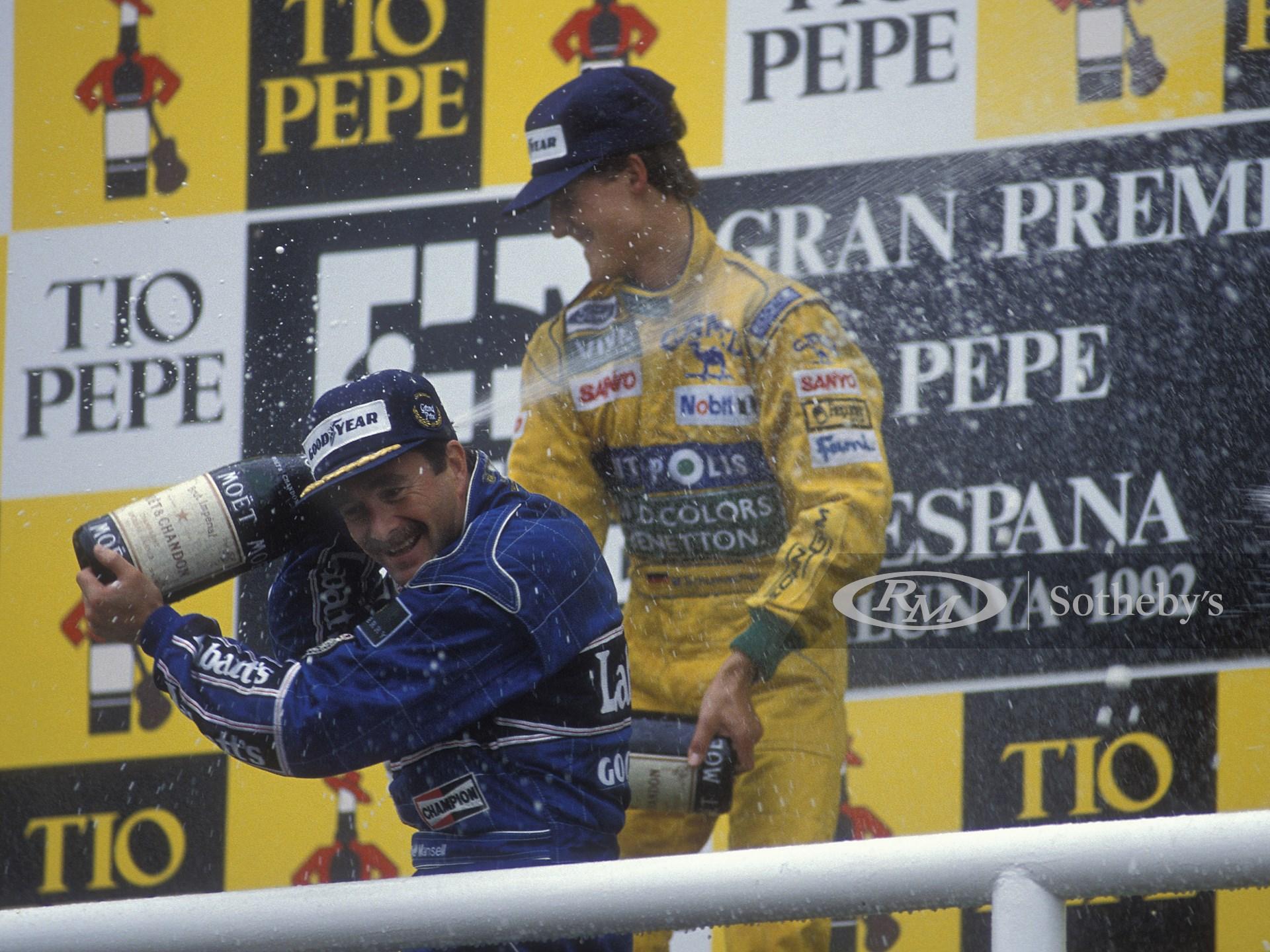 1992 Benetton B192 Formula 1