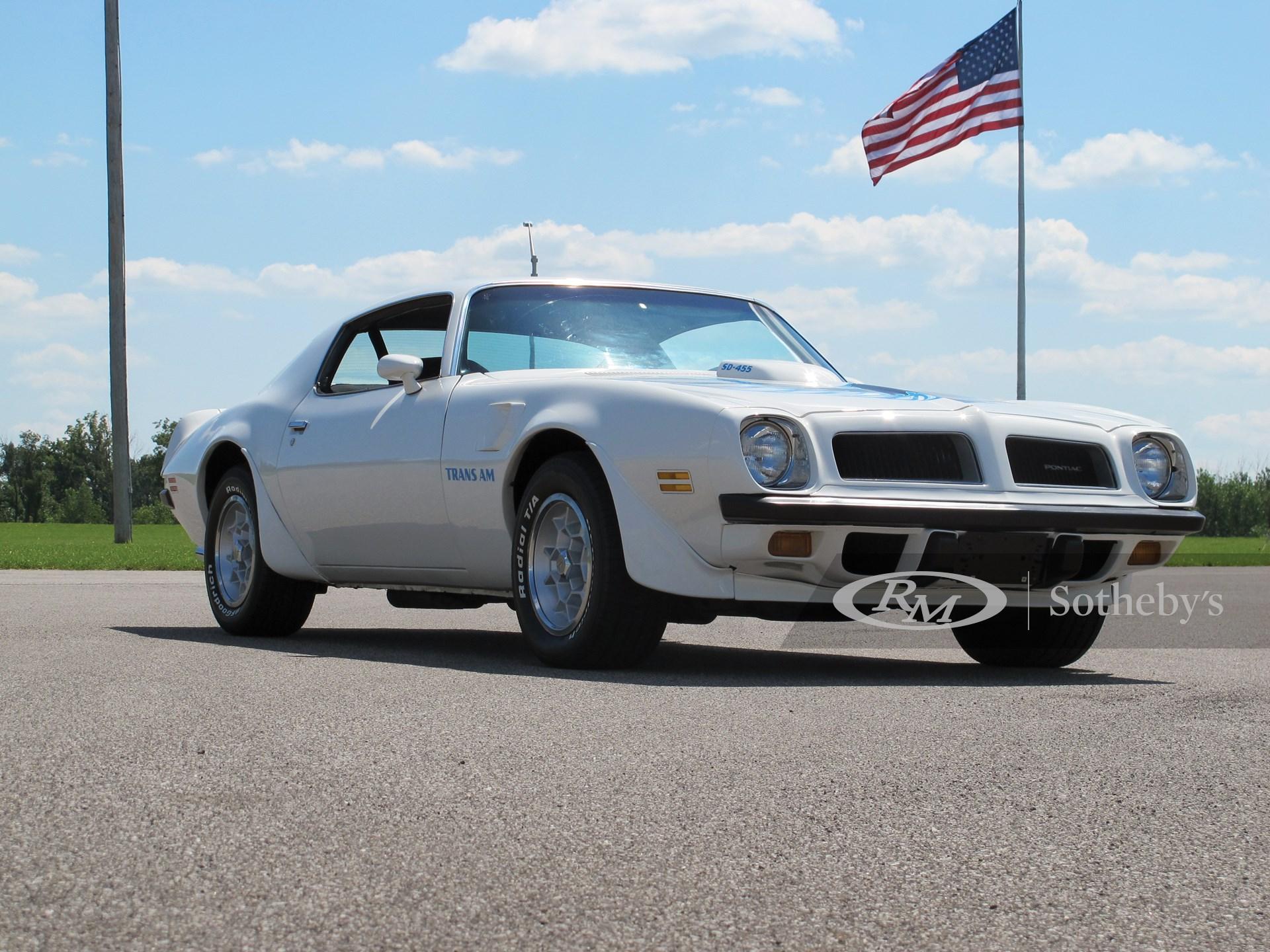 1974 Pontiac Trans Am SD 455