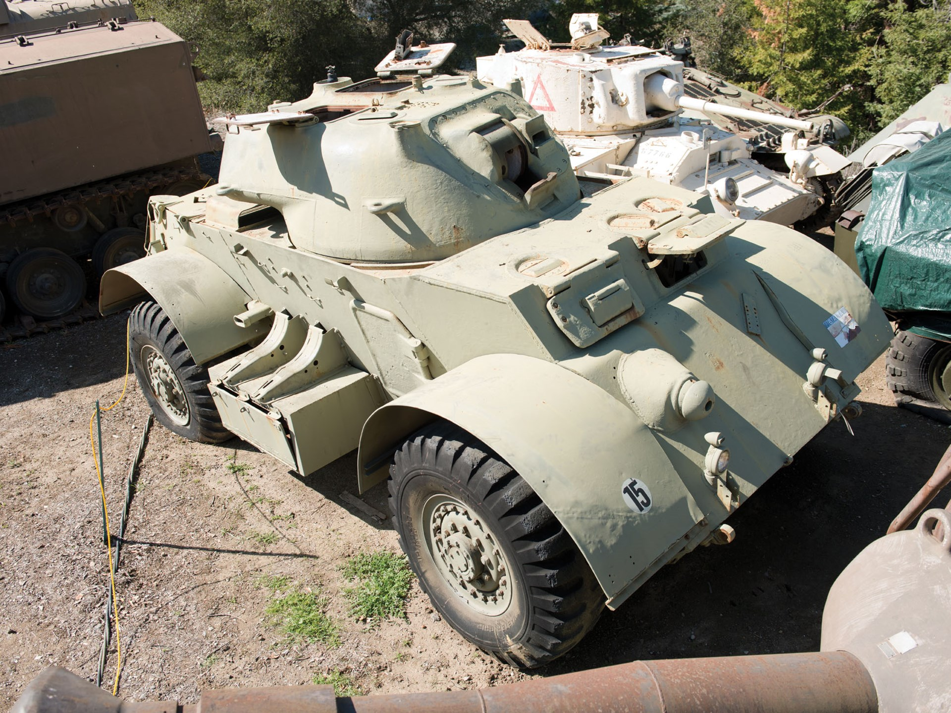 RM Sotheby's - T17E1 Staghound Armored Car | The Littlefield
