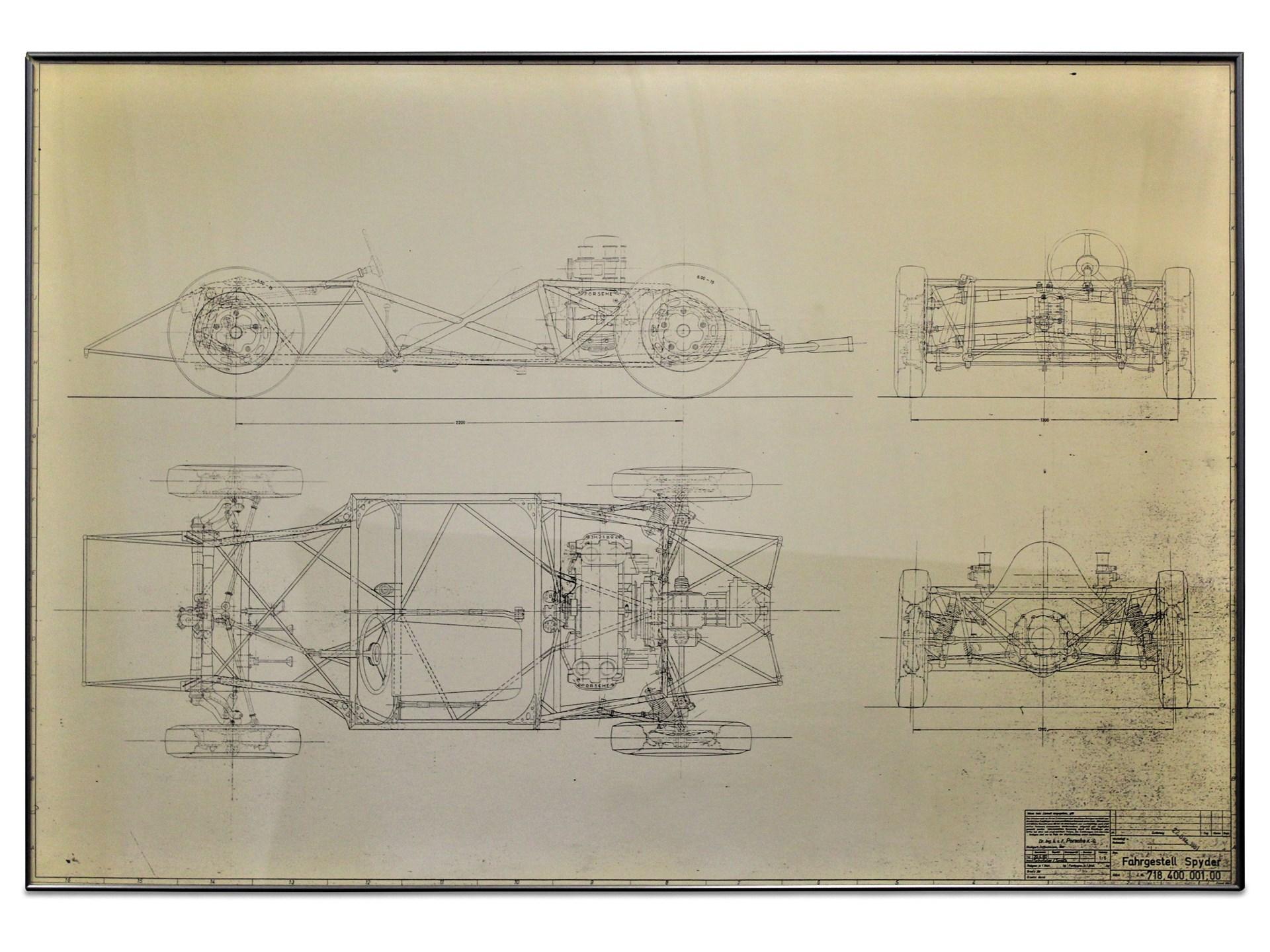 Rm Sothebys Porsche 718 Spyder Chassis Diagram The 70th F 117 Engine