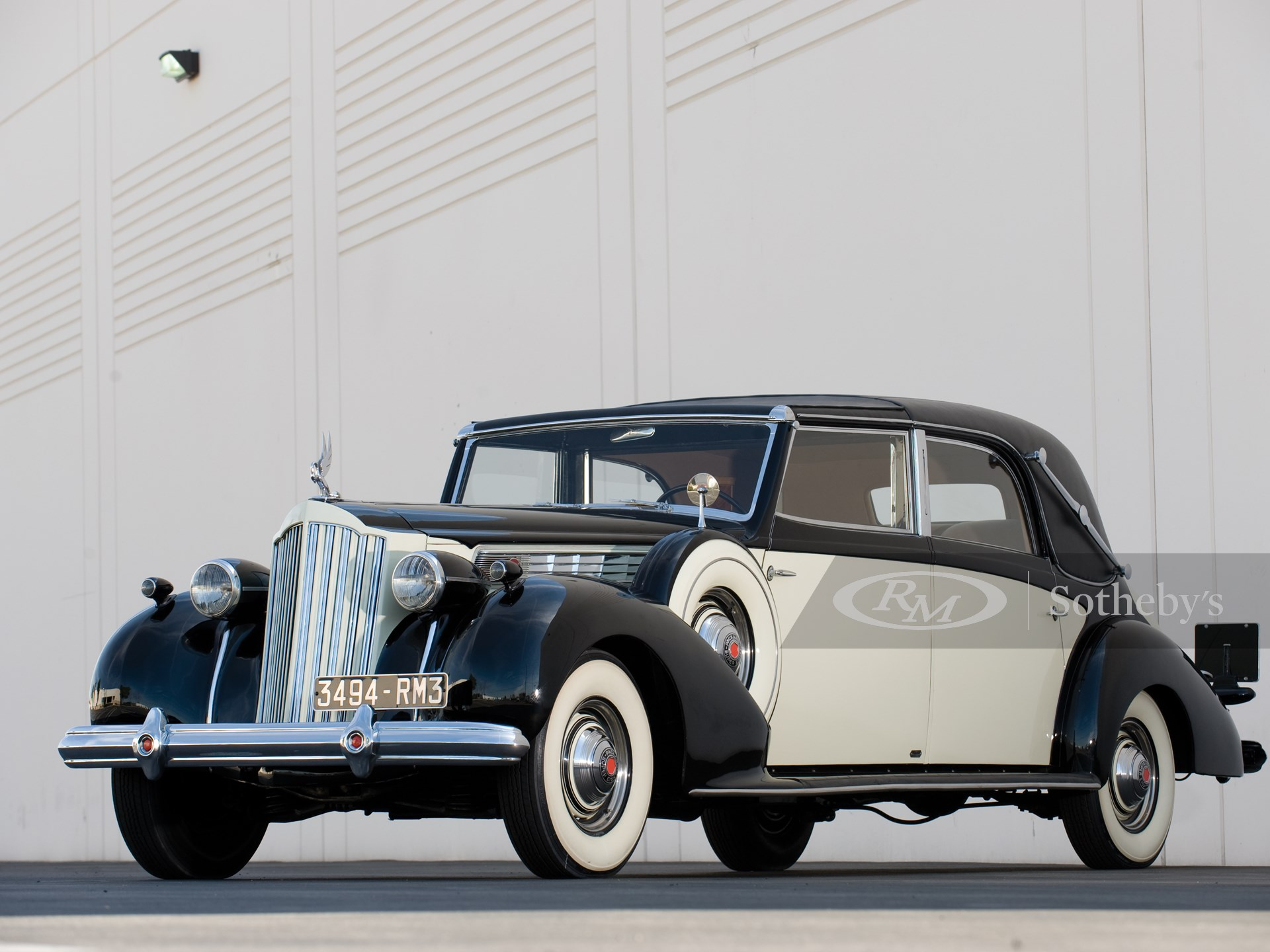 1939 Packard Super Eight Transformable Town Car by Franay