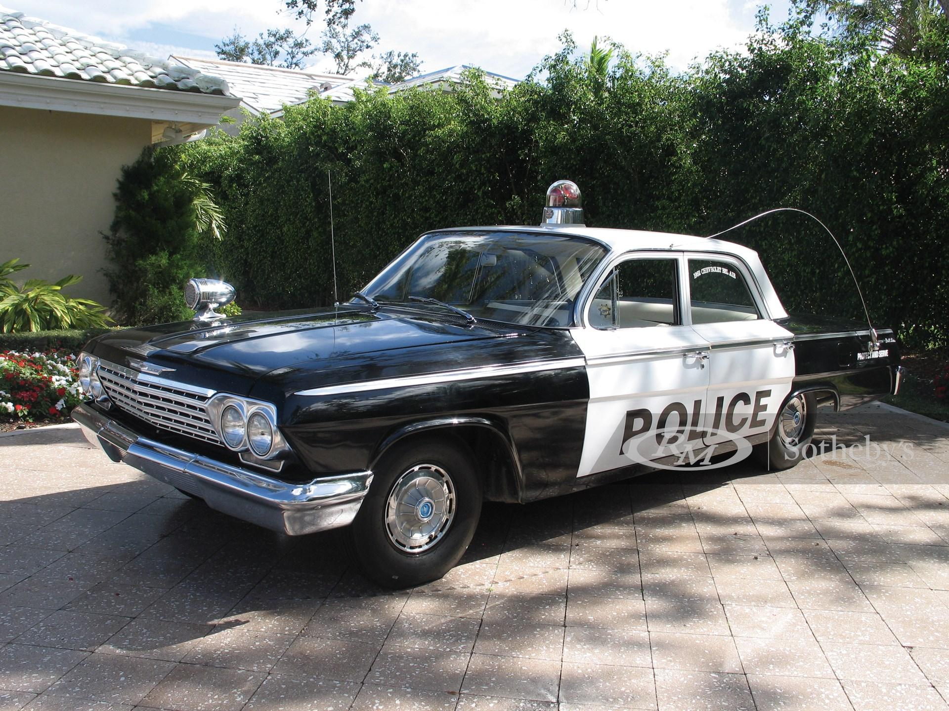 1962 Chevrolet Palm Beach County Police Car  -