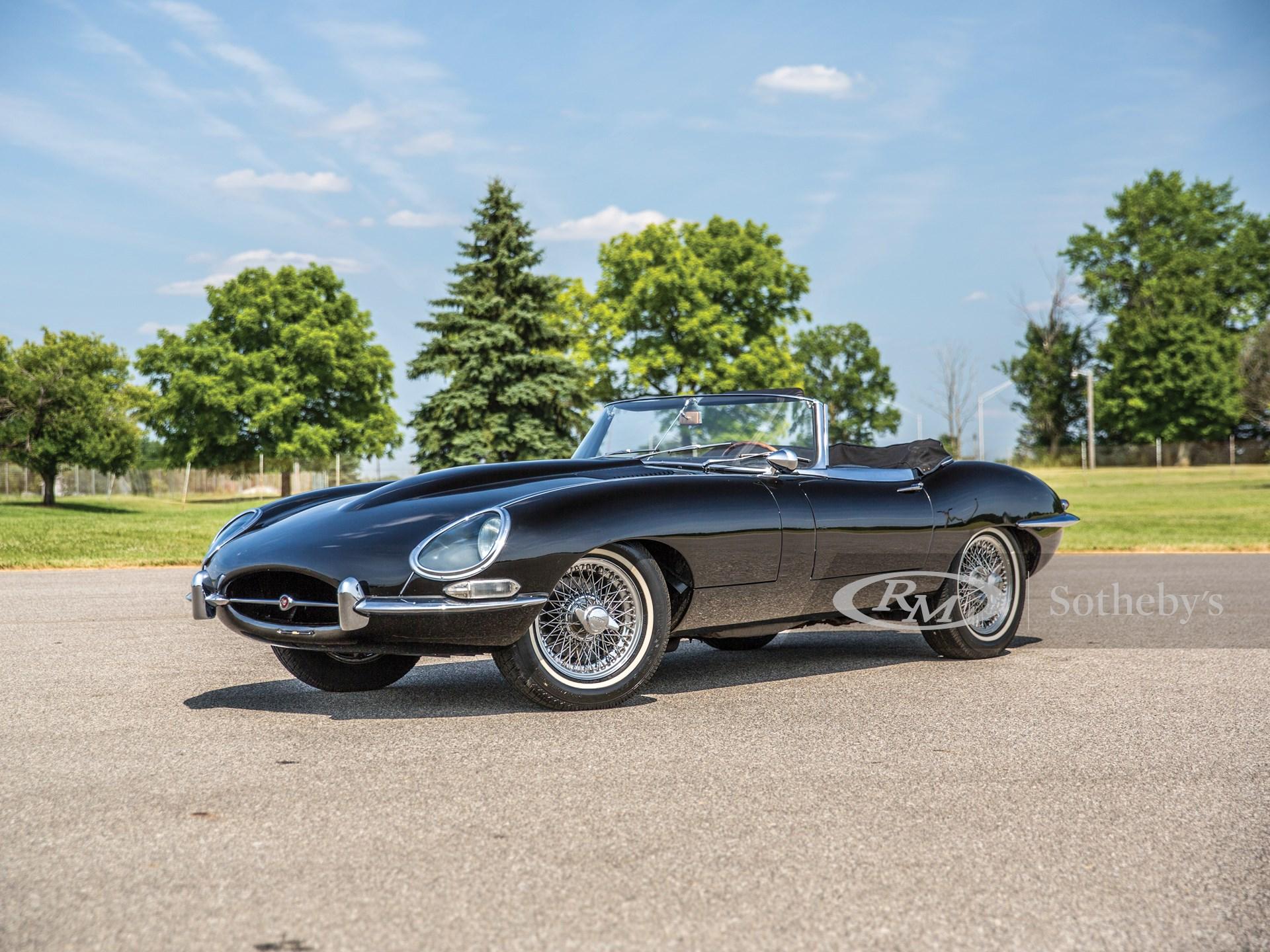 1965 Jaguar E-Type Series 1 4.2-Litre Roadster | Hershey ...