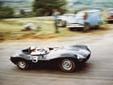 1955 Jaguar D-Type  - $XKD 520 At the Bathurst 100 in 1956, where it placed third and was the fastest sports car.