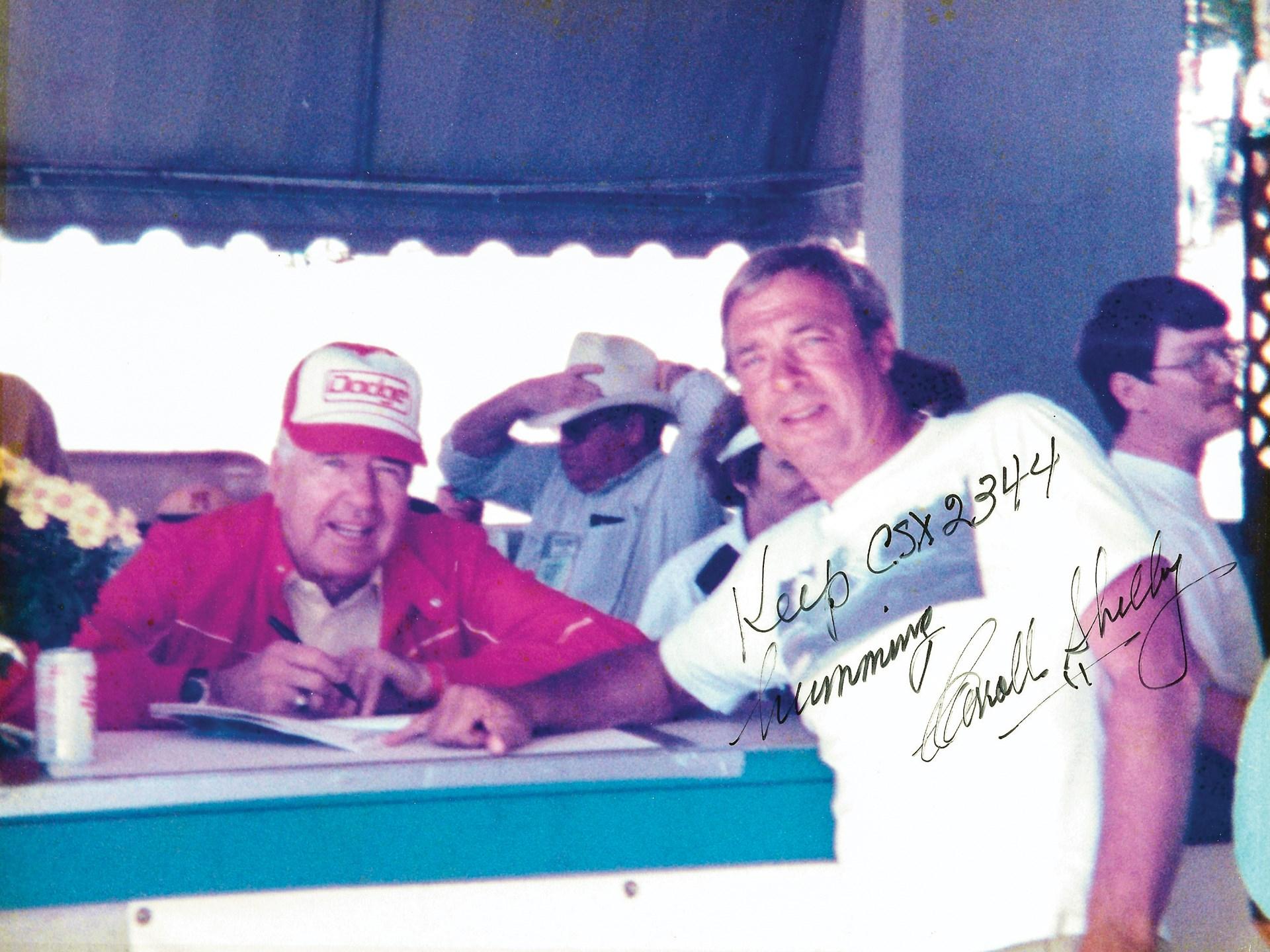 Carroll Shelby and Robert Lindauer Sr.
