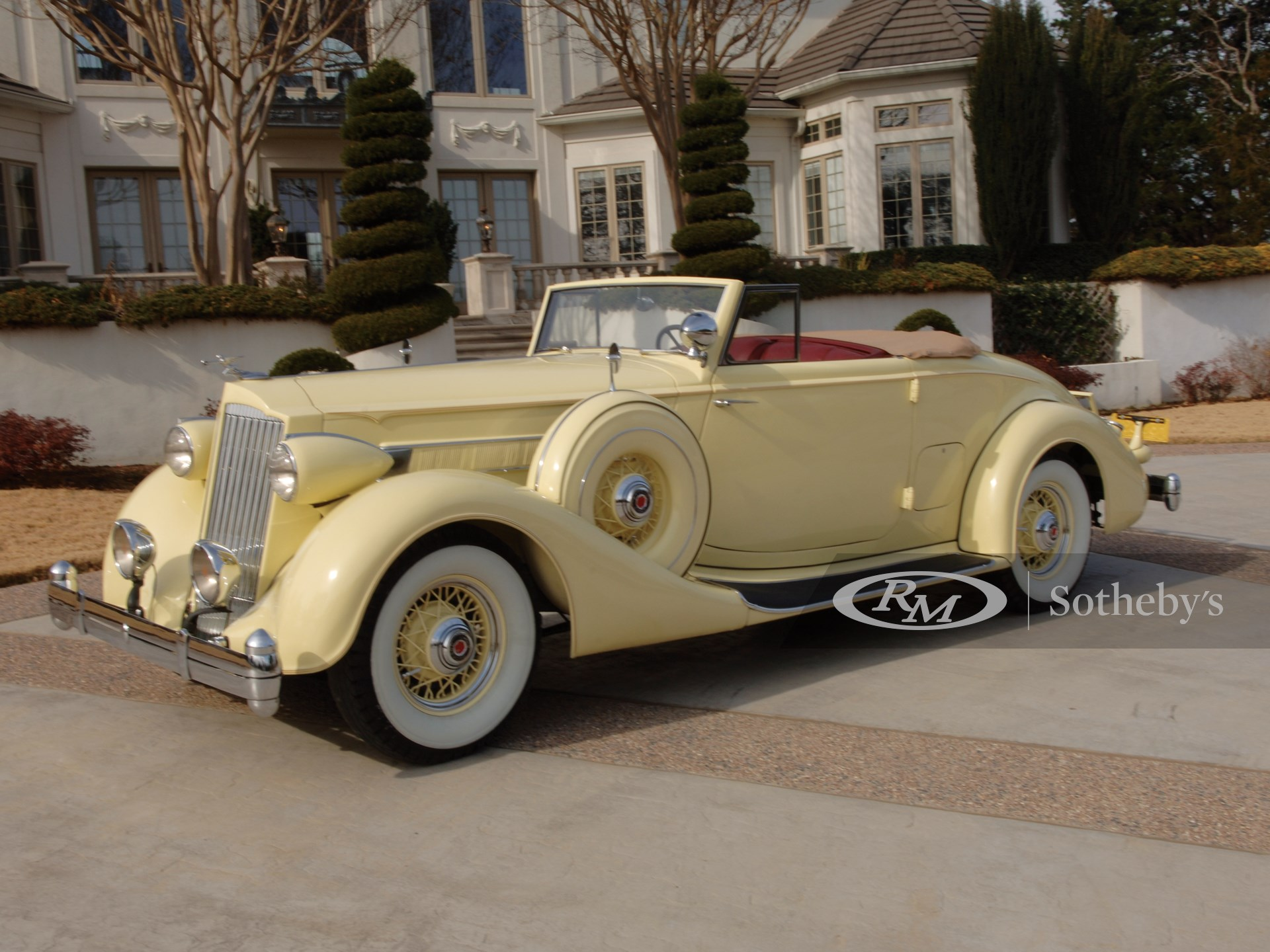 1936 Packard Eight Convertible Coupe