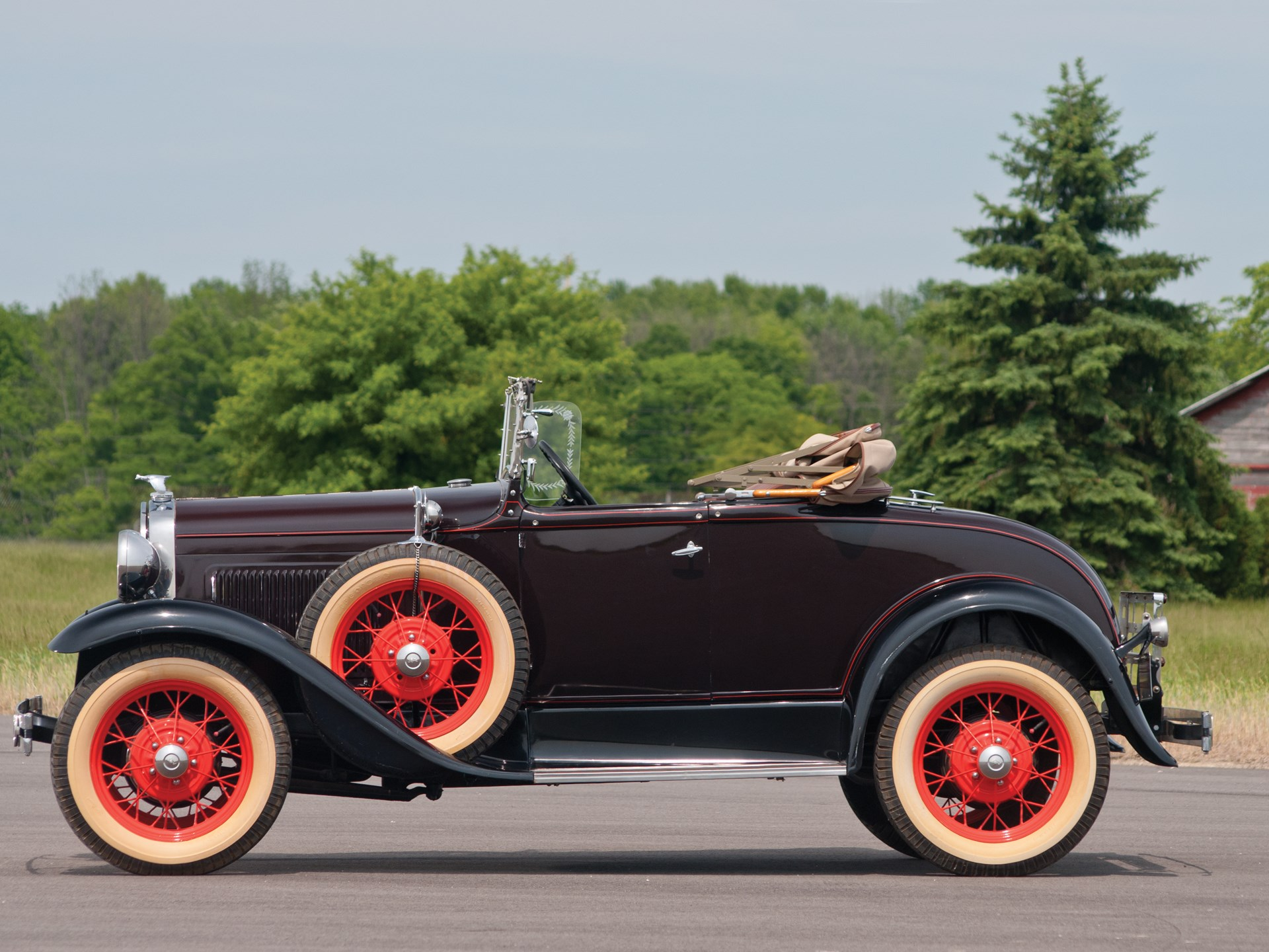Rm Sothebys 1930 Ford Model A Roadster St Johns Formerly Chevy Sedan Spare Tire Mount
