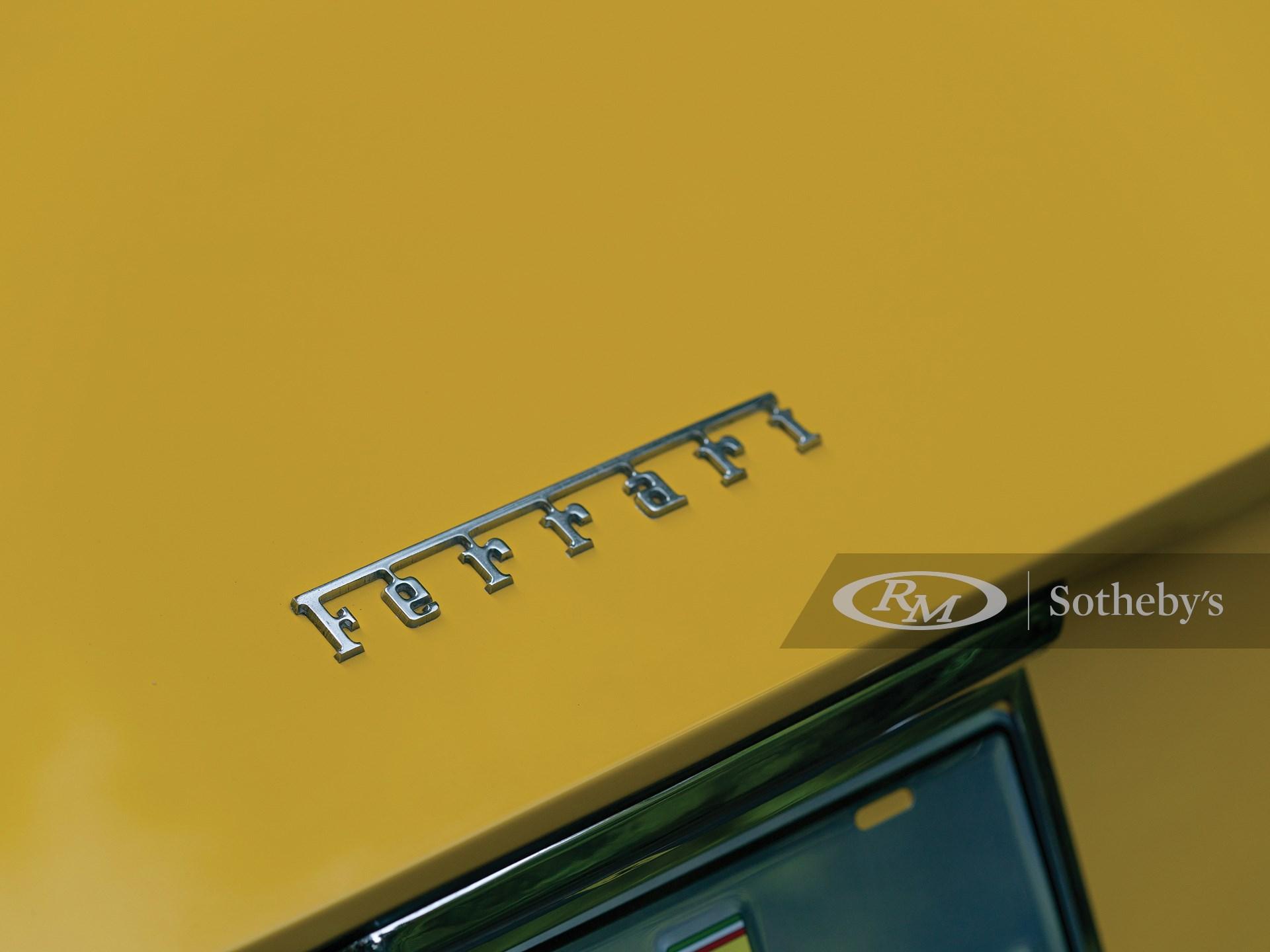1973 Ferrari 365 GTS/4 Daytona Spider by Scaglietti -