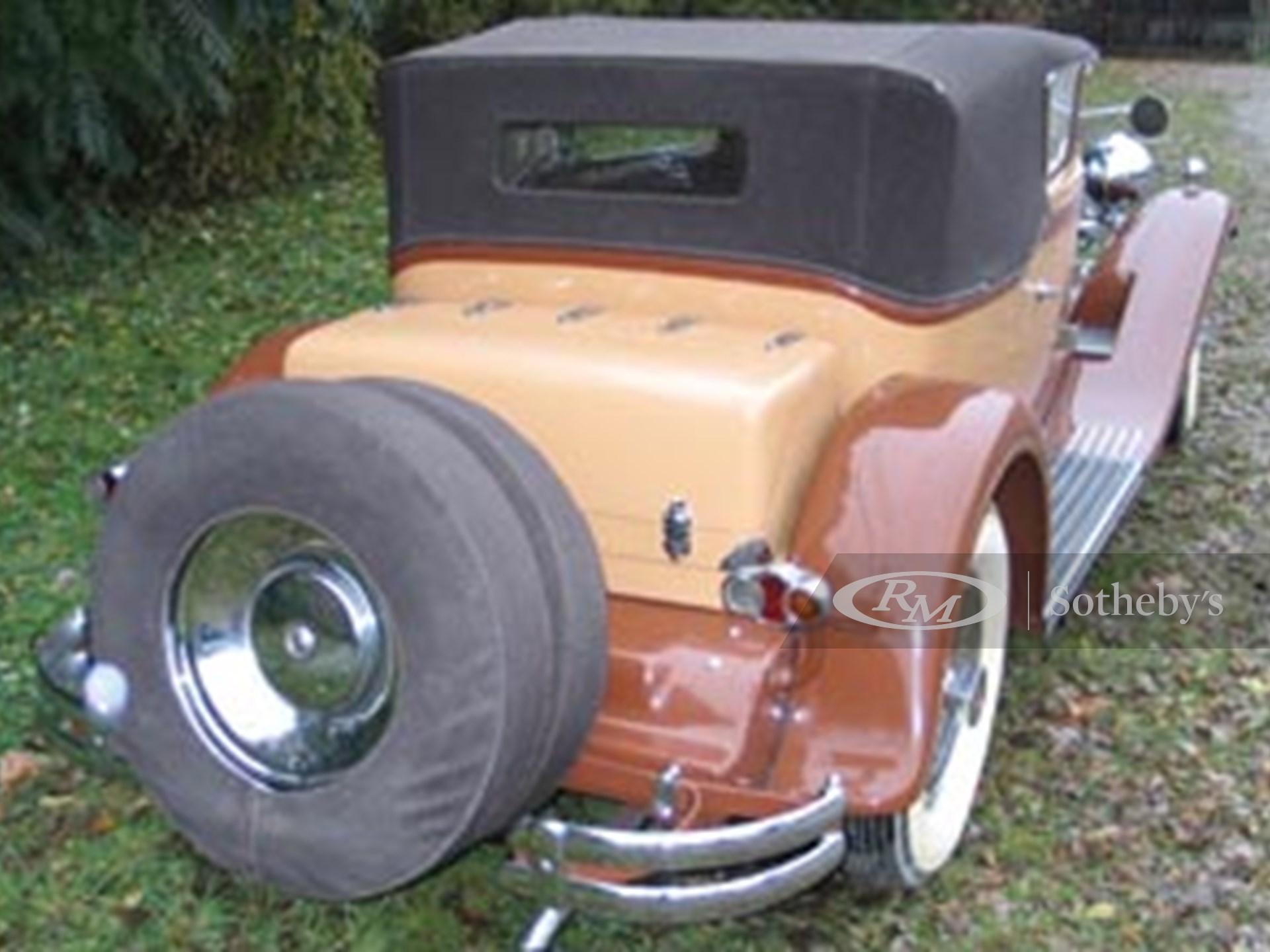 1931 Packard 840 Waterhouse Convertible Victoria